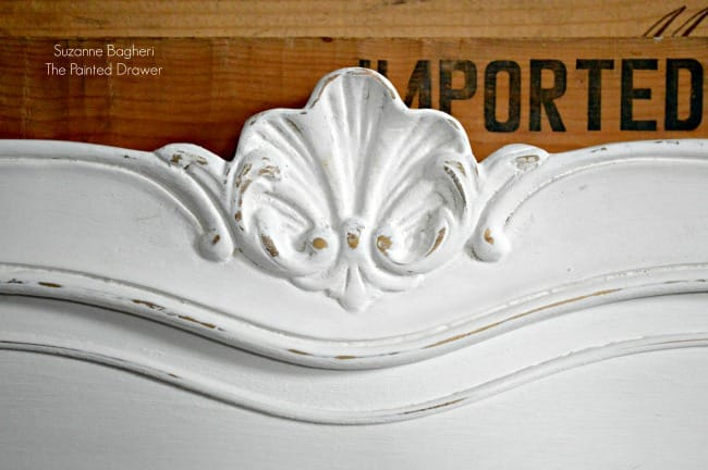 French Provincial Bed Before and After