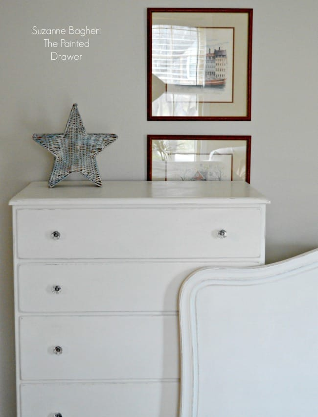 Pure White Bedroom Set