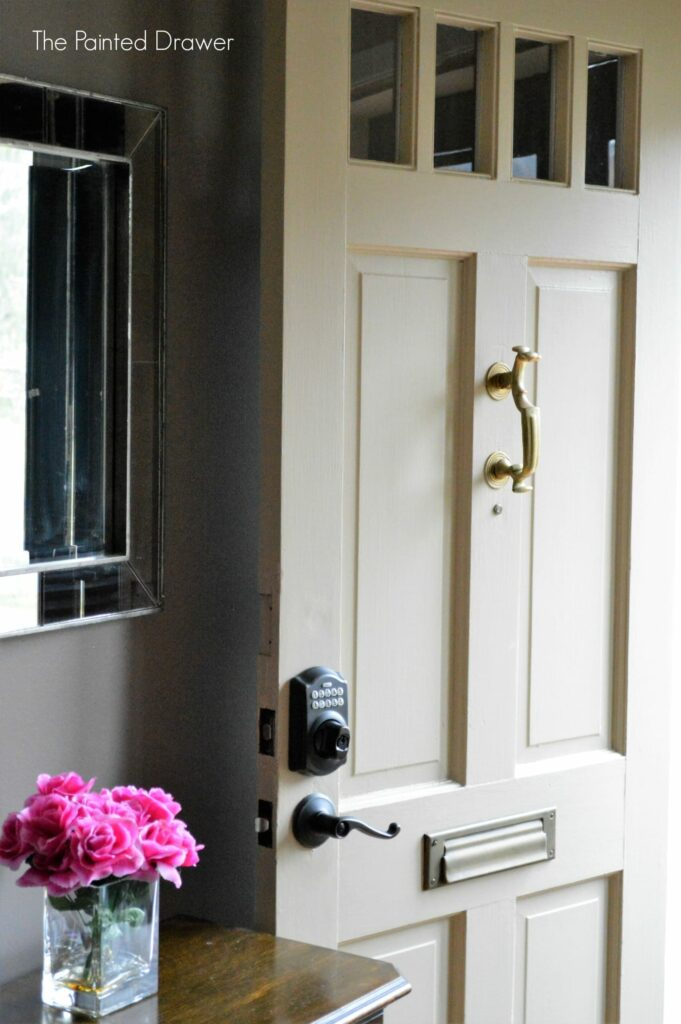 Front Door Schlage Lock