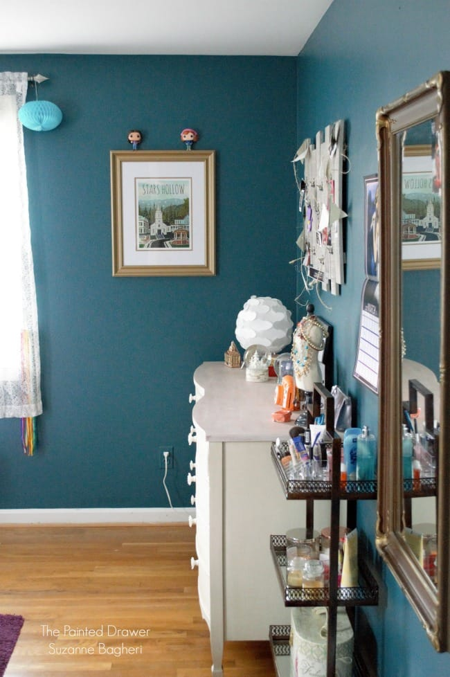 A Behr Wanderlust Teen Bedroom Reveal
