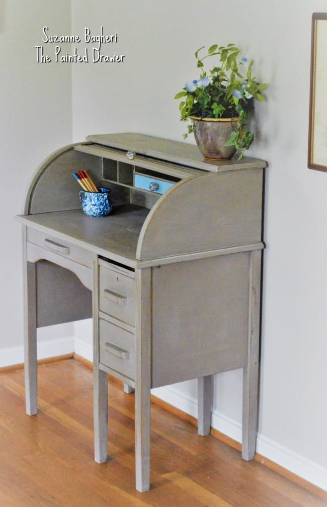 Annie Sloan Coco Roll Top Desk