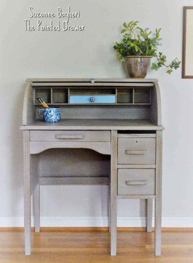Annie Sloan Coco Roll Top Desk