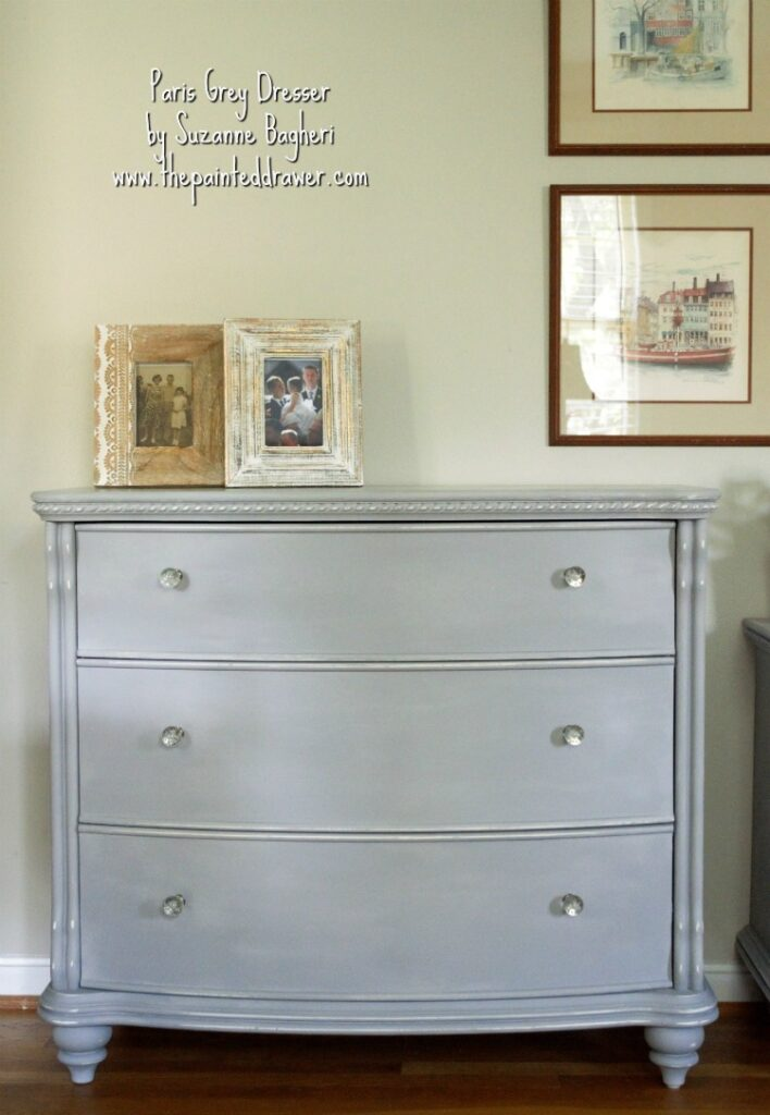 Paris Grey Bedroom Set Before and After