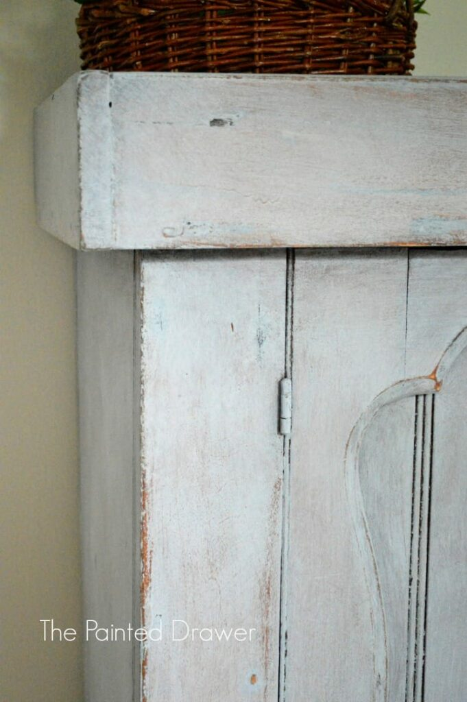 Dry Sink in Paint Wash
