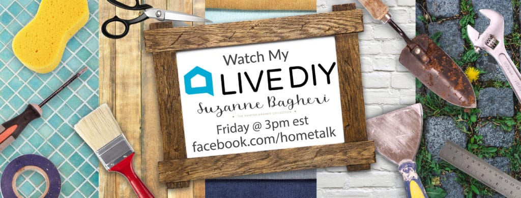 HomeTalk LIVE – Painting a Thrift Store Piece with Milk Paint