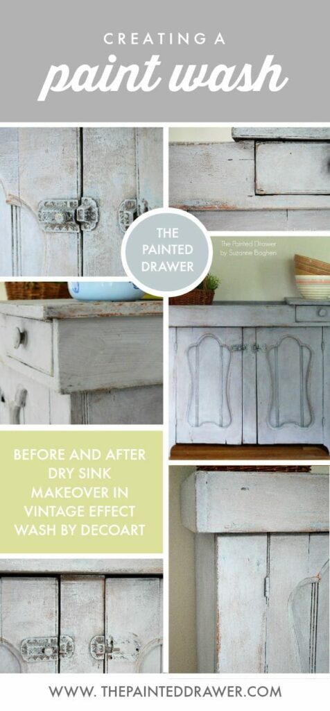 HOW TO CREATE A PAINT WASH