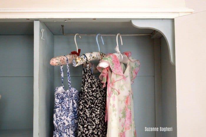 creamy whites armoire