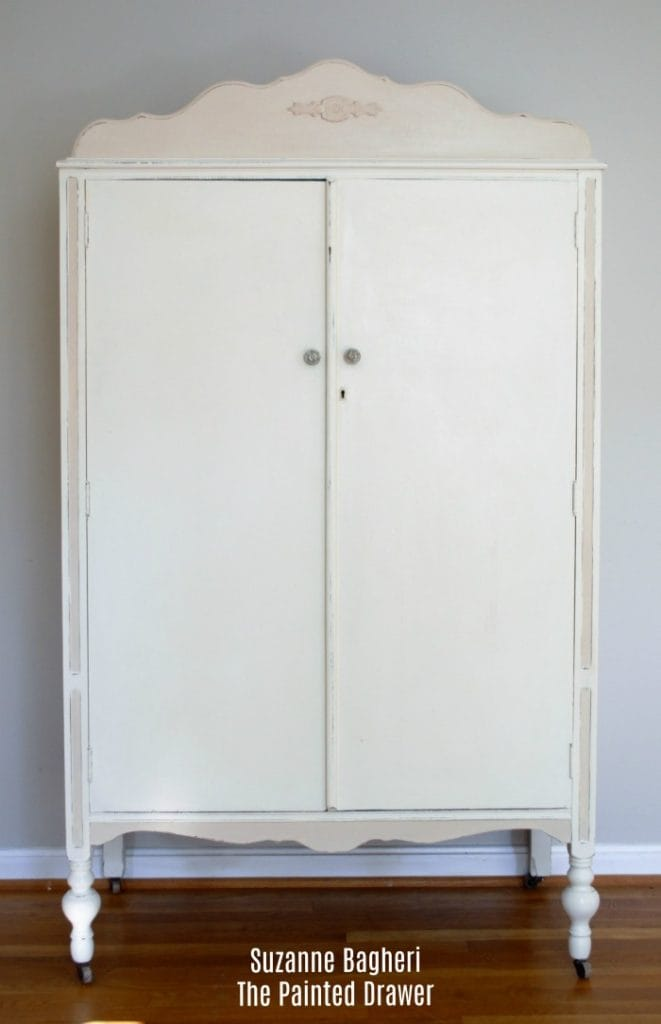 amazing creamy whites armoire with armoire design blanche. Black Bedroom Furniture Sets. Home Design Ideas