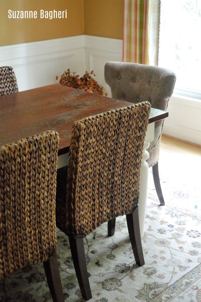Dining Table in Annie Sloan Old White