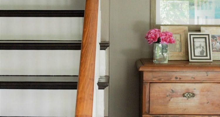 General Finishes Dark Chocolate Milk Paint Makeover