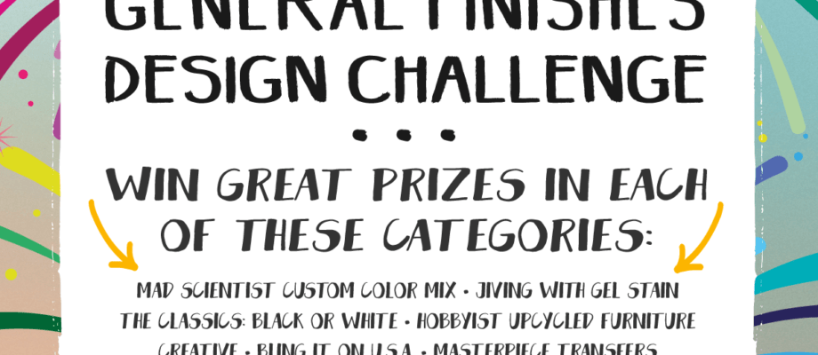 General Finishes Design Challenge – YOU Vote!