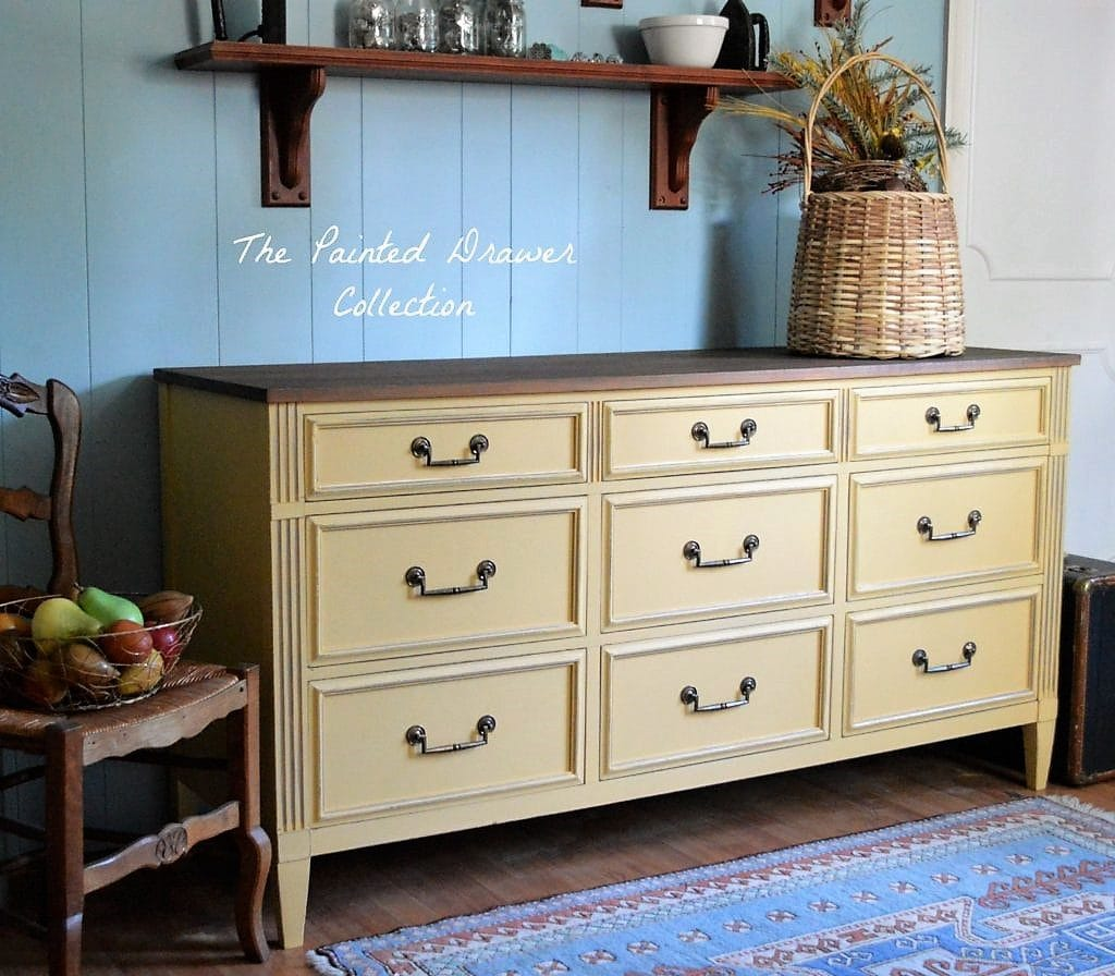 Somerset Gold Dresser fall inspiration