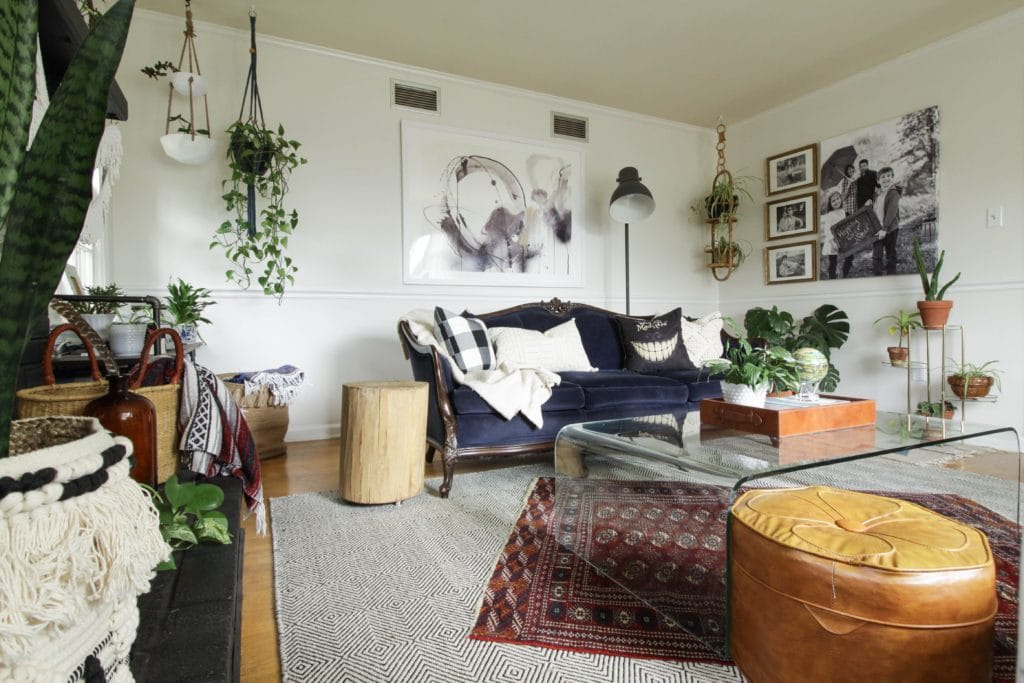 fall living room cassie bustamante