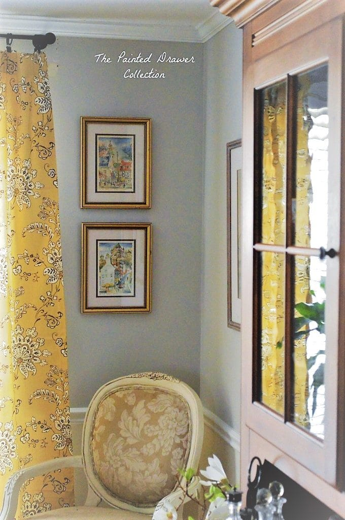 Gold Dining Room Curtains
