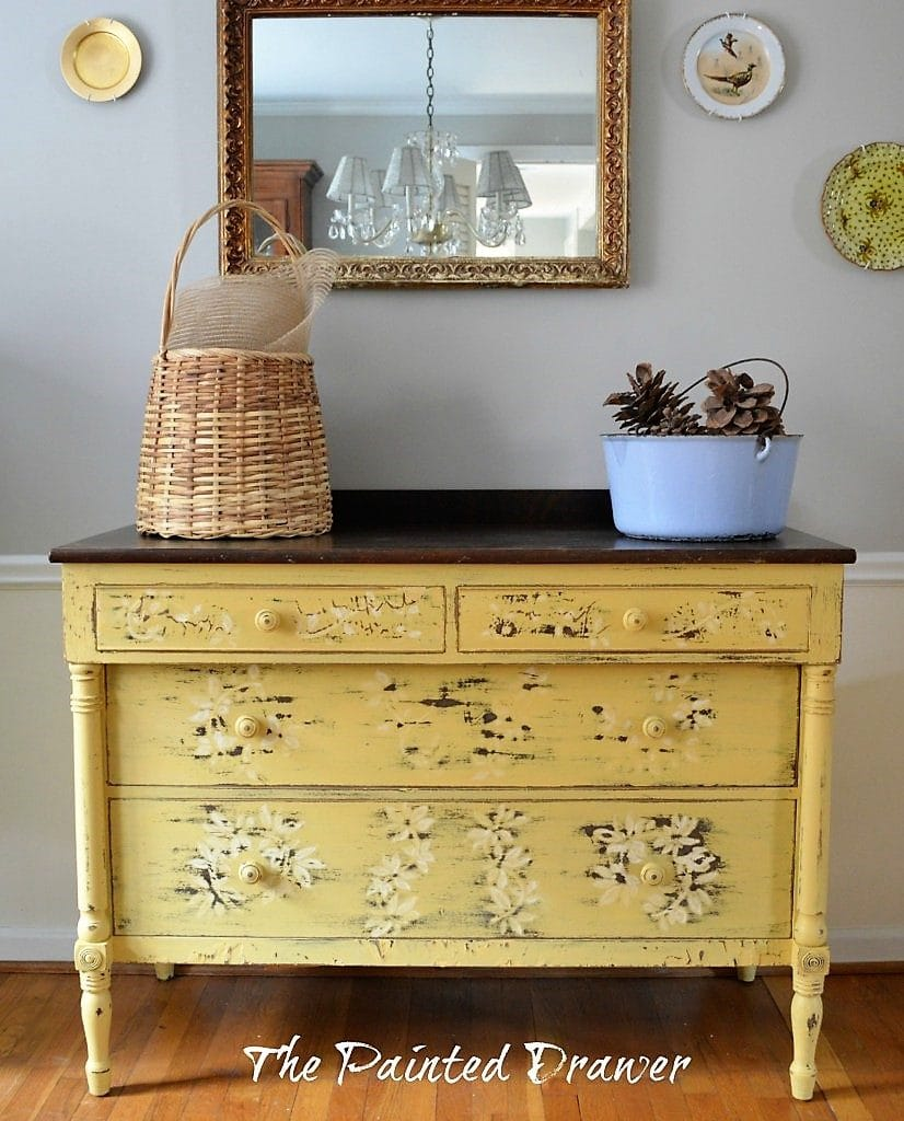 Chippy Daisy Dresser in Somerset Gold fall inspiration