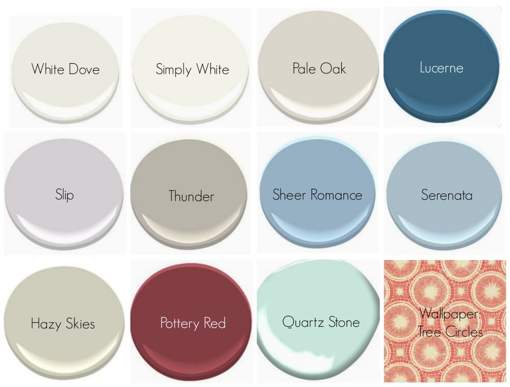 Brooklyn Carriage House Series 7/ Benjamin Moore Paint Colors