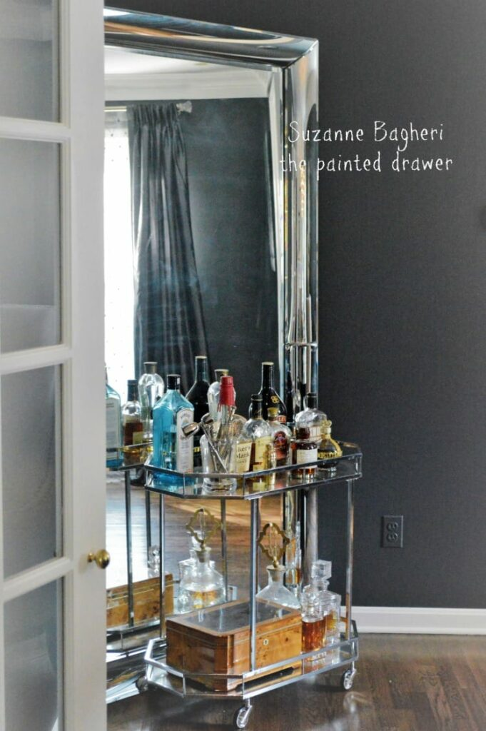 Christin S Farmhouse Glam Foyer Makeover