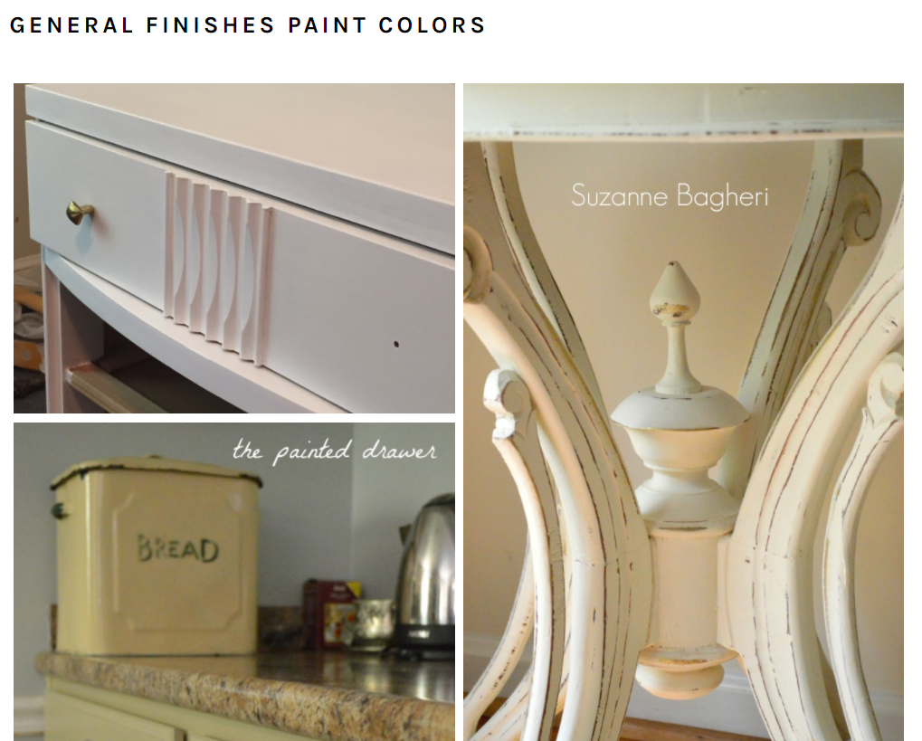 General Finishes Paint Colors