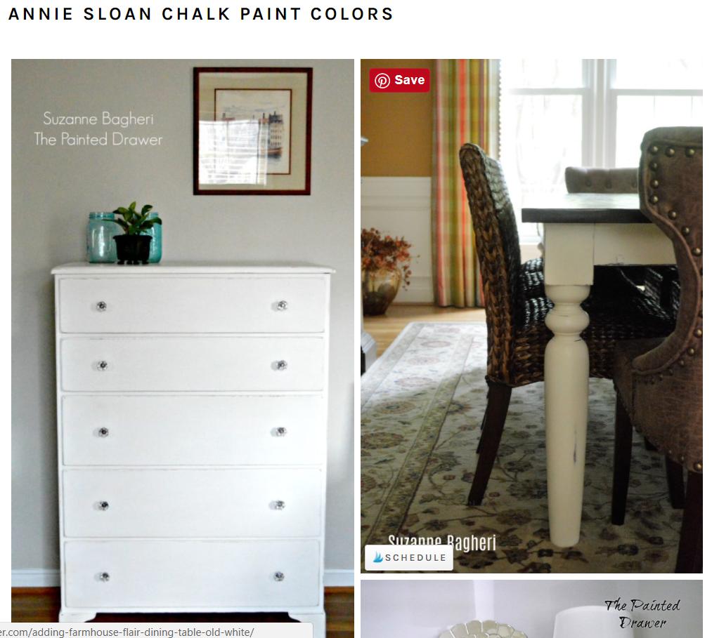 Annie Sloan Paint Colors Gallery