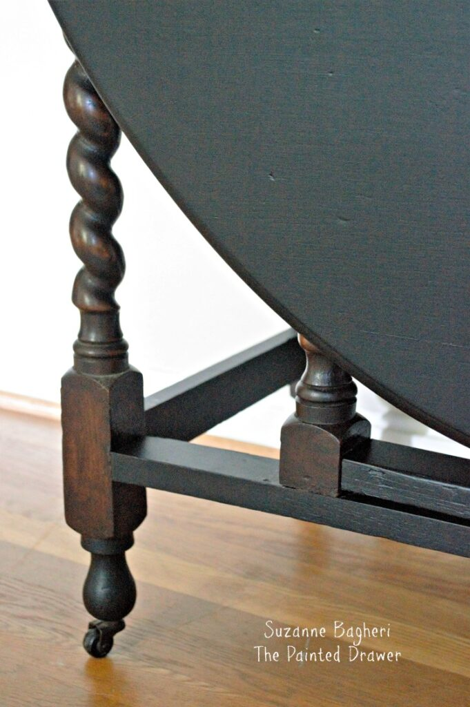Suzanne Bagheri The Painted Drawer Gateleg Table