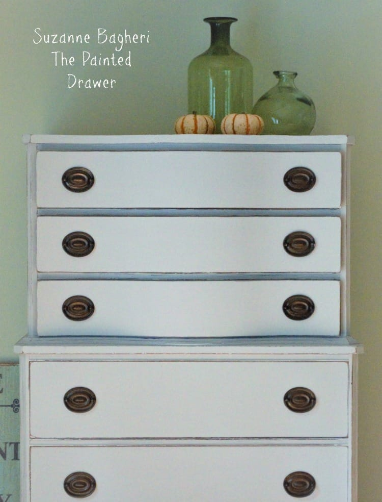 Limestone Chalk Paint Chest of Drawers