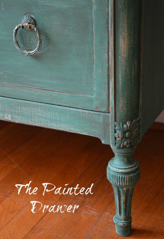 Aged Patina Annie Sloan Florence Dresser