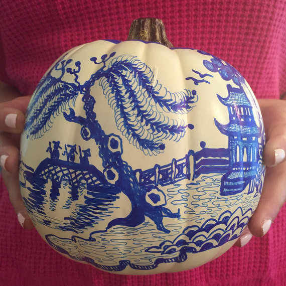 IndigoHome Painted Pumpkins