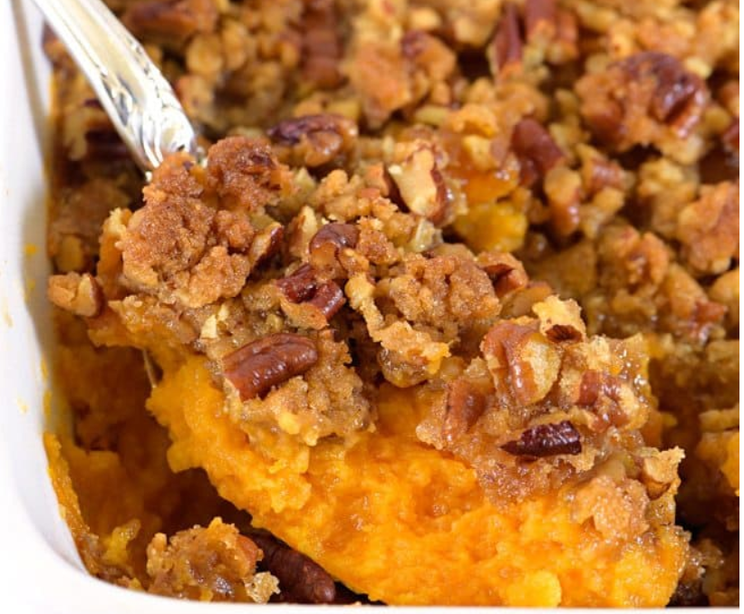 Thanksgiving Recipe Share 3/Tangerine Sweet Potato Casserole