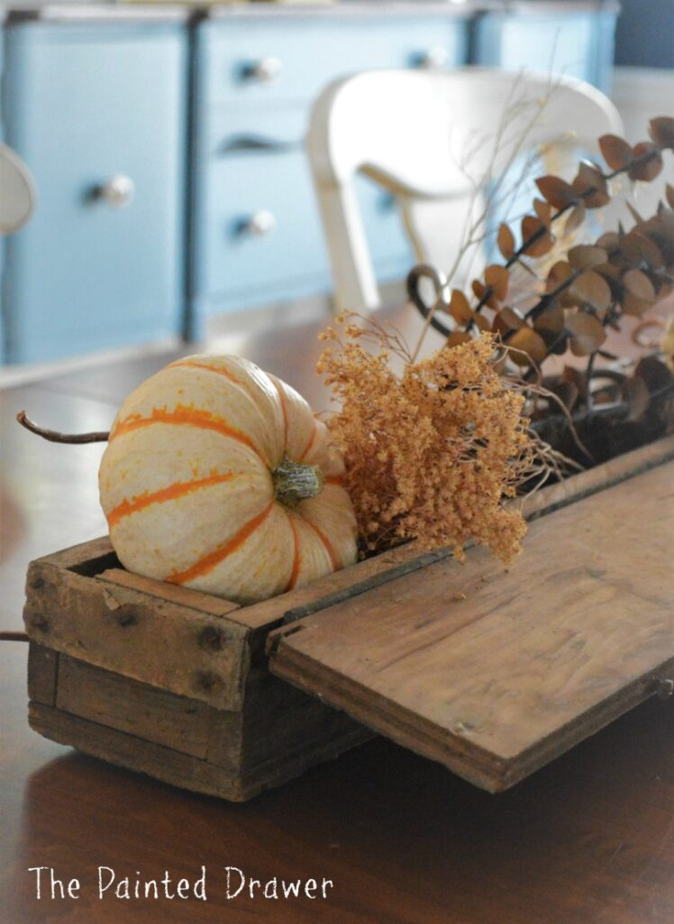 Little Bit of This and That – Quick Fall Centerpiece