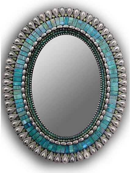 Zetamari Mosaic Mirror, Gifted Home Decor