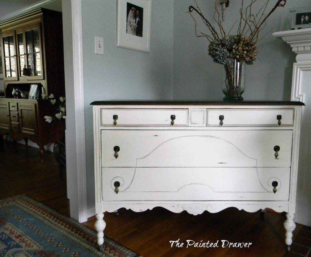 Vintage Dresser with original pulls