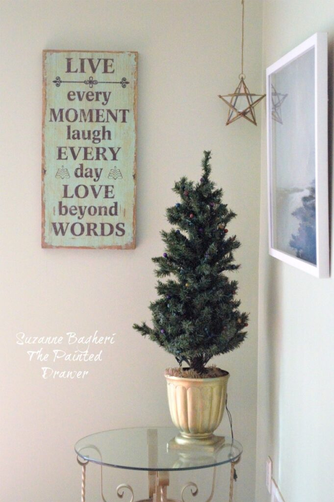 Christmas Family Room Decor