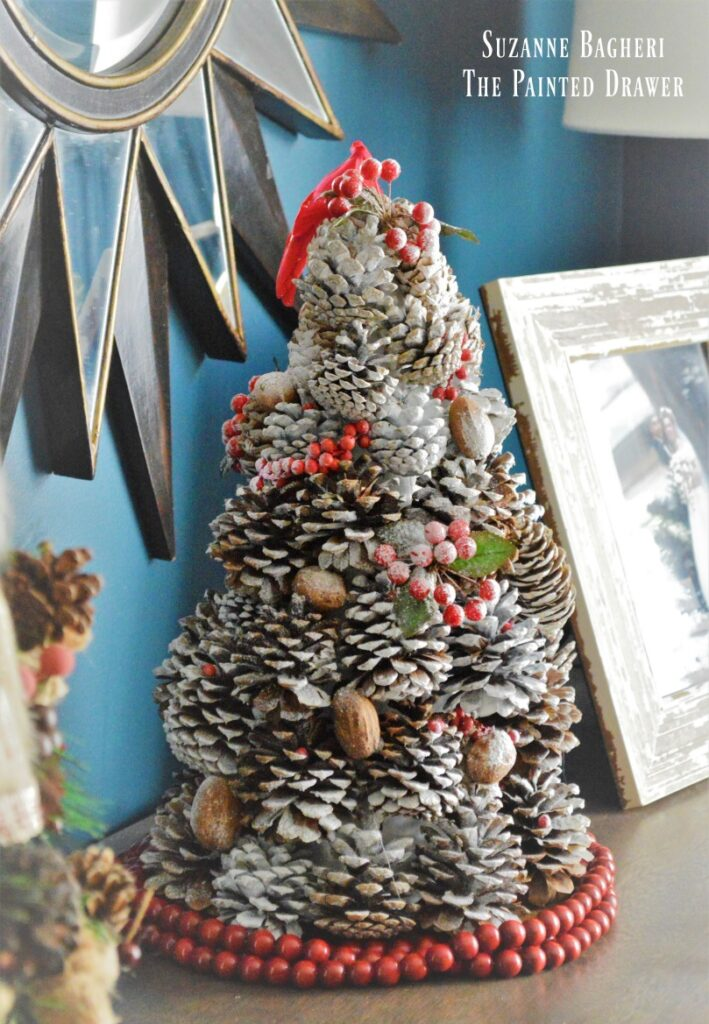 Pine Cone Tree, Easy Holiday Craft!