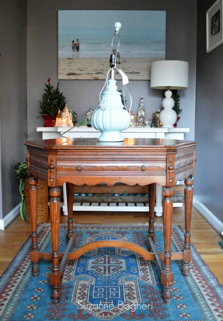 A Few Fantastic Finds – Vintage Table and Lamp