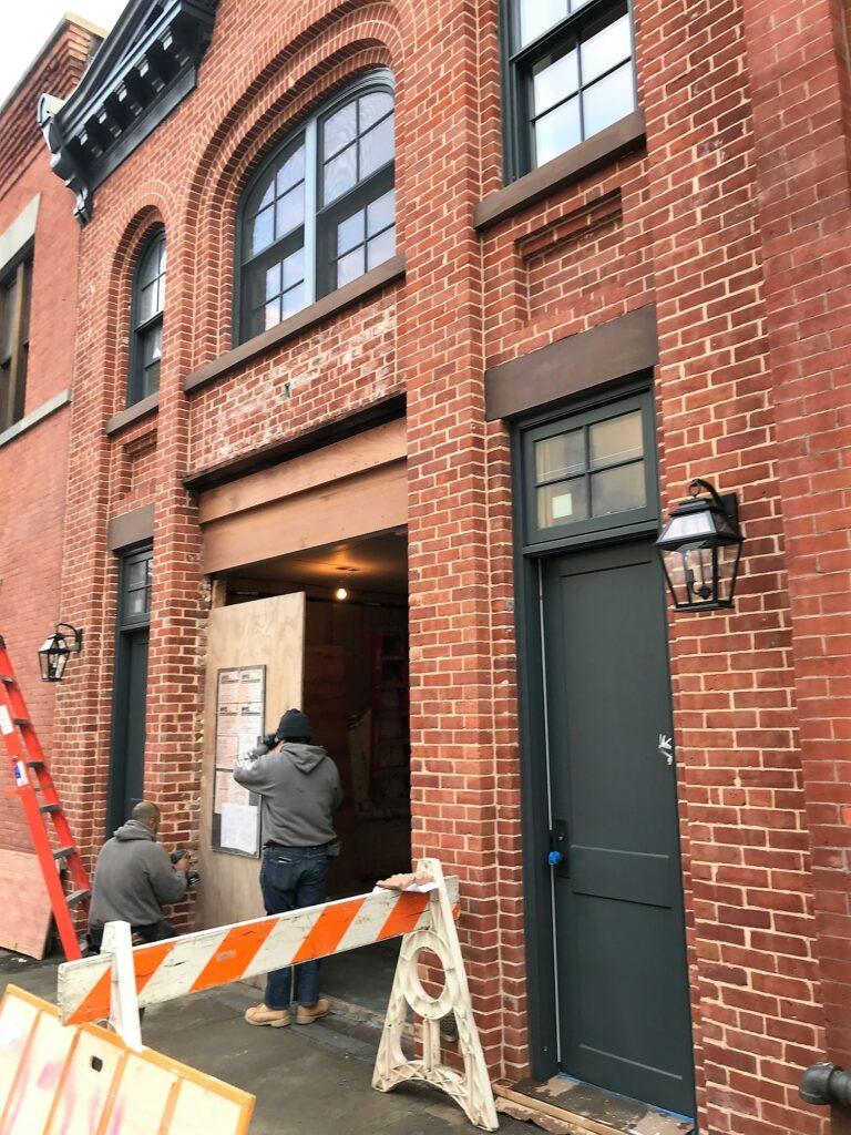 Brooklyn Carriage House in Progress