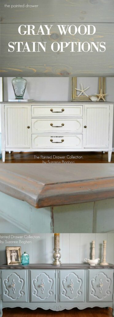 Gray Wood Stain Options Pin