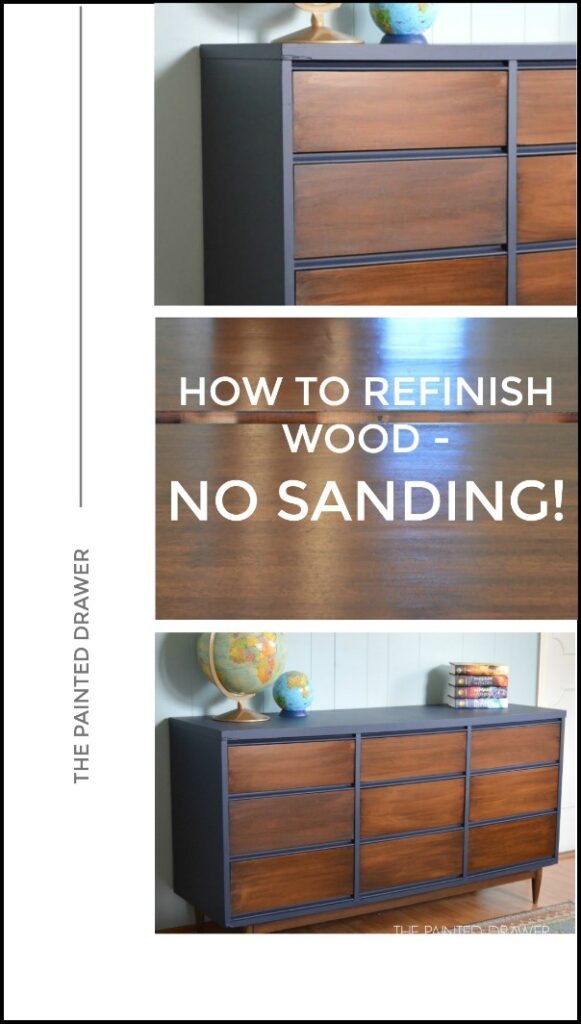 How To Tuesday - Refinish Wood Without Sanding!