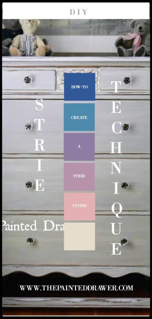 How-To Tuesday: Wet Distress/Strie Technique with Chalk Paint