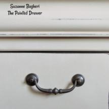 Lace Panel Dresser in Annie Sloan Old Ochre