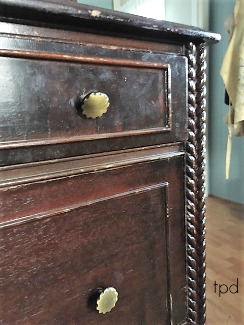 Rope Trim Dresser