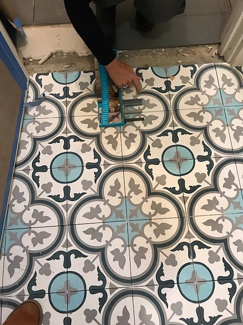 Front Hall Tile