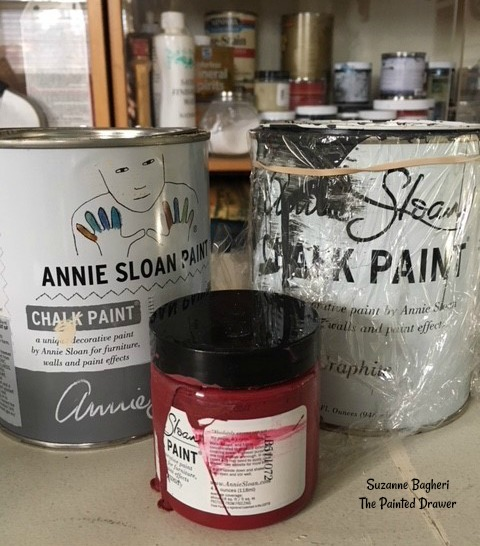 Create Purple with Annie Sloan custom mix