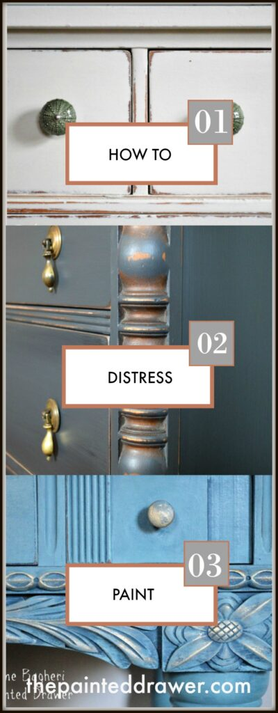 How-To Tuesday: Create a Distressed Finish on Chalk or Milk Paint