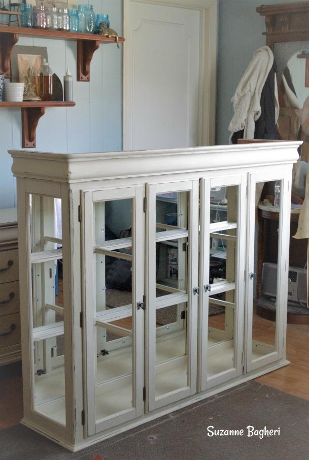 Old Ochre Cabinet