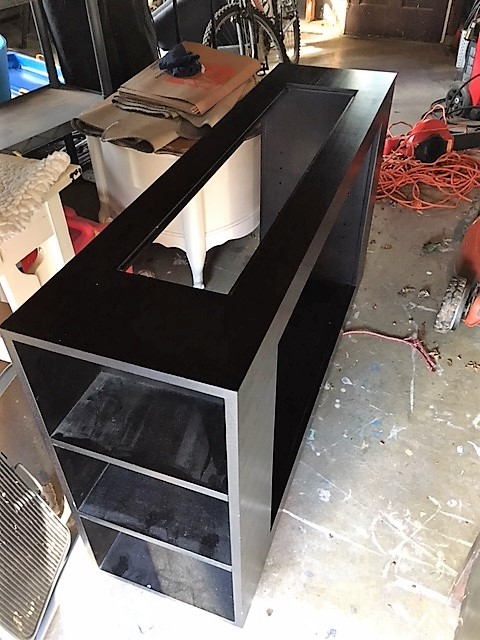 Before Black Console Table