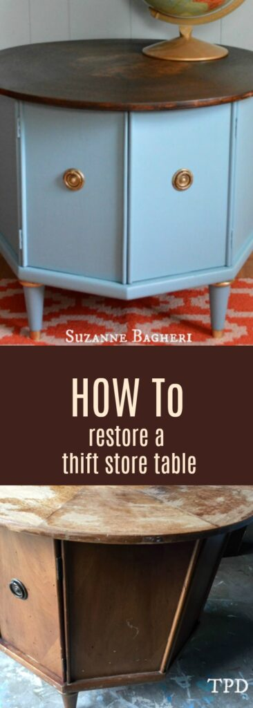 How-To Tuesday: Transform a Thrift Store Table