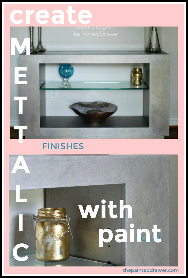 Create Metallic Finishes with Paint