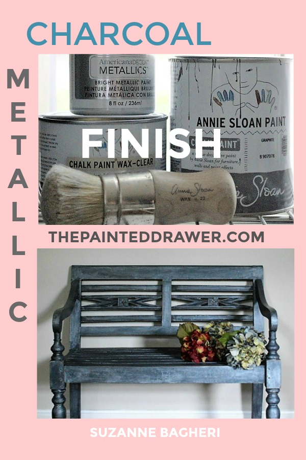 How to create a metallic finish with chalk paint