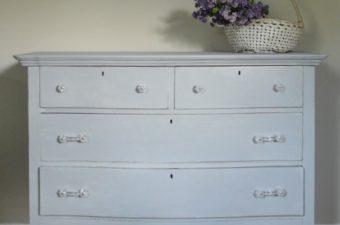 Paris Grey Bedroom Dresser