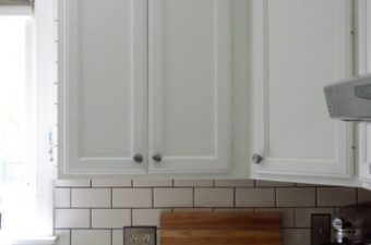 Subway Tile with Natural Gray Grout